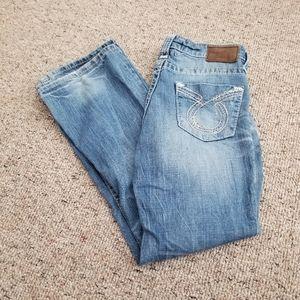 Ladies Distressed Big Star Maddie Boot Jeans 28